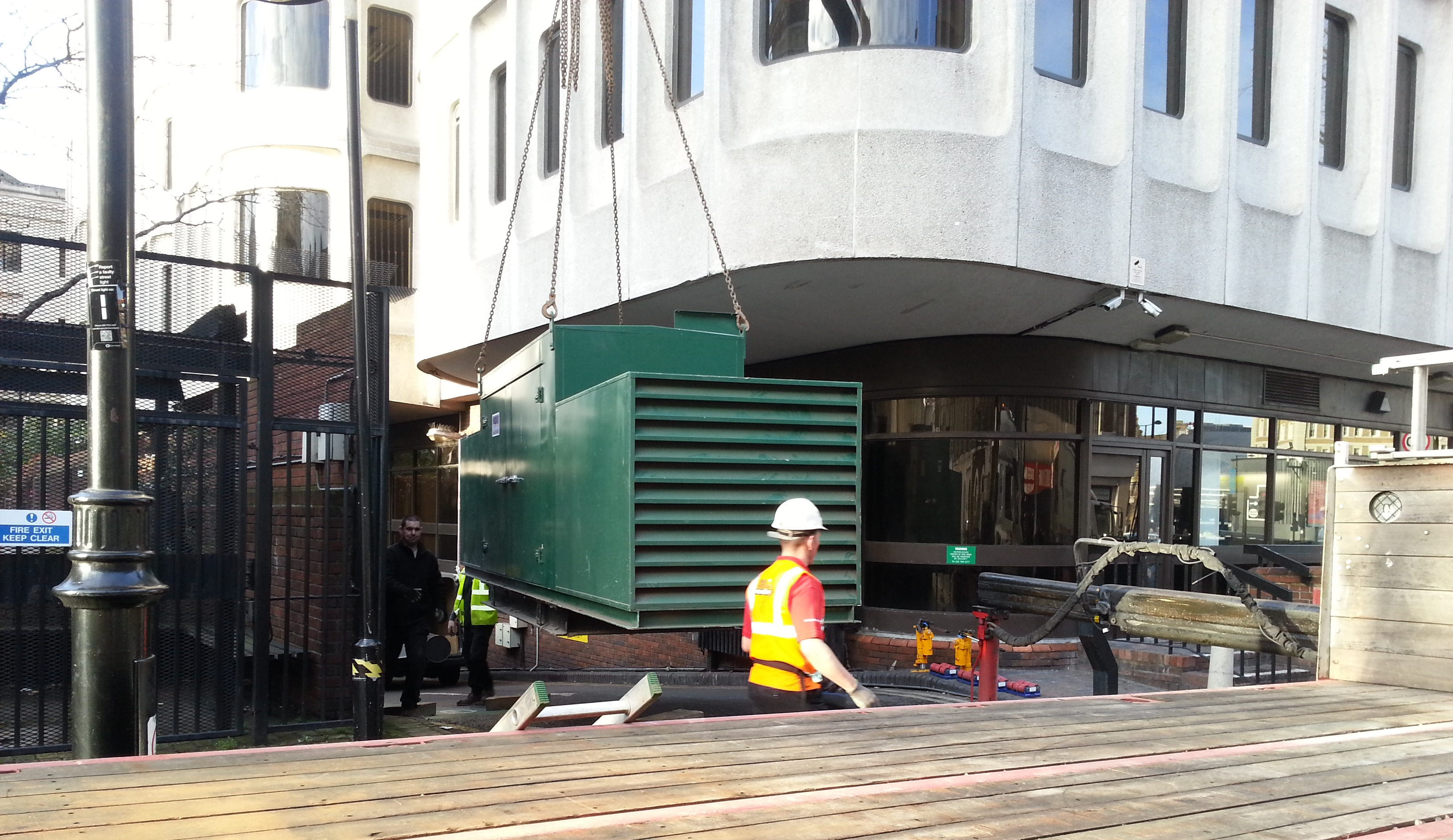 Generator Upgrade for London Town Hall - The Generator Company