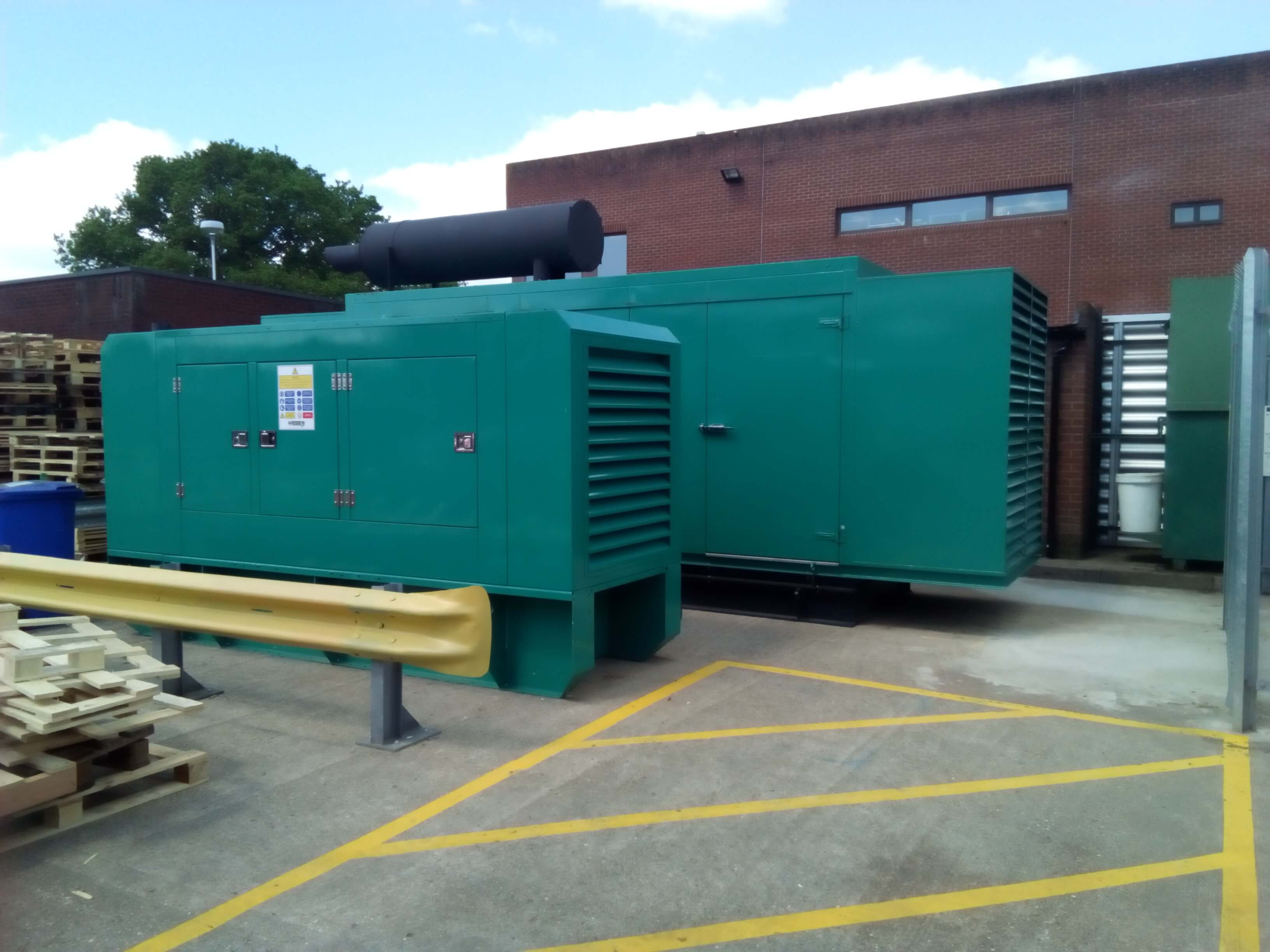 Back up Generator System Upgrade at Prestigious Motor Co The