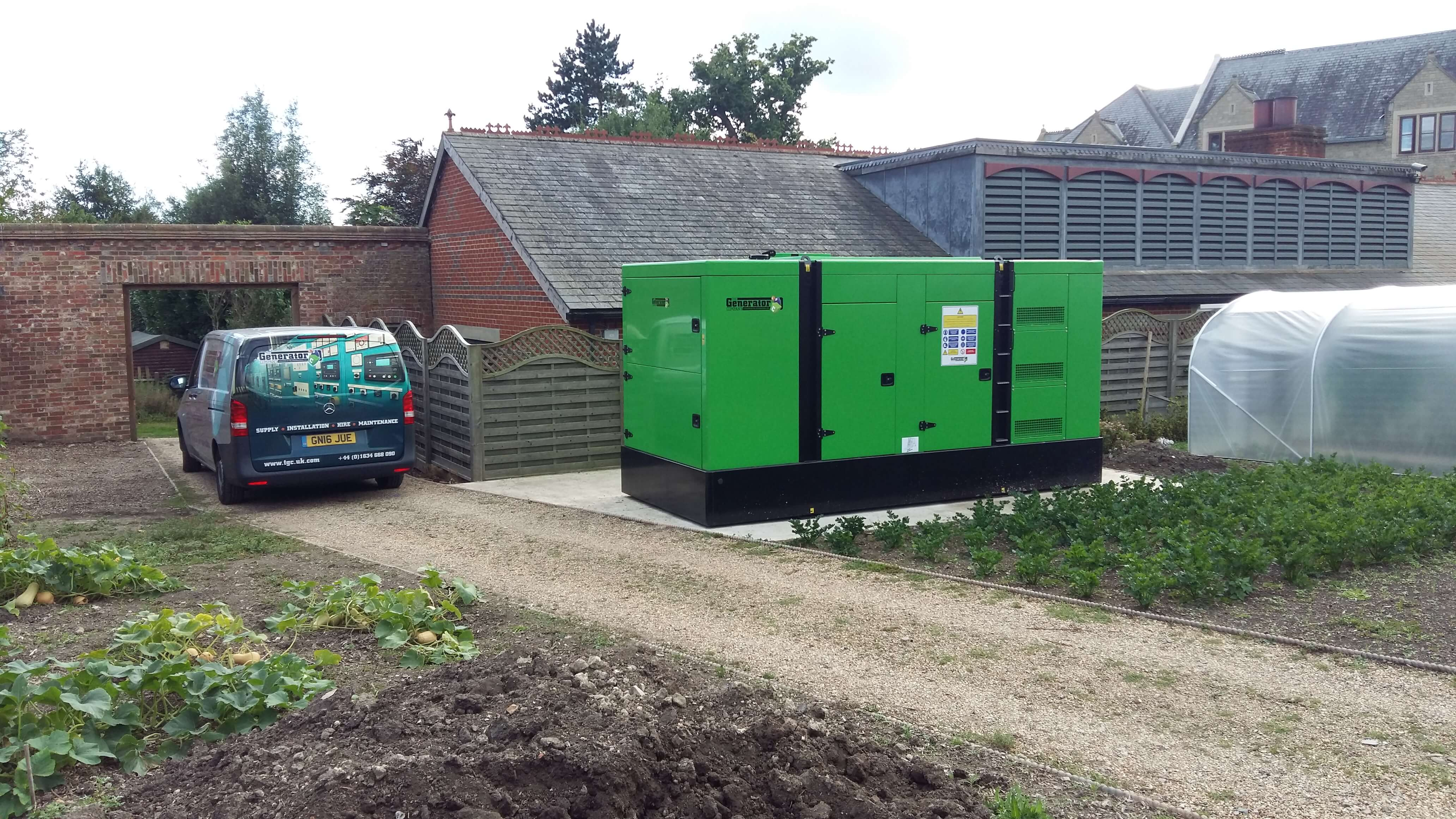 Standby Generator Installation at Exclusive 5 Hotel