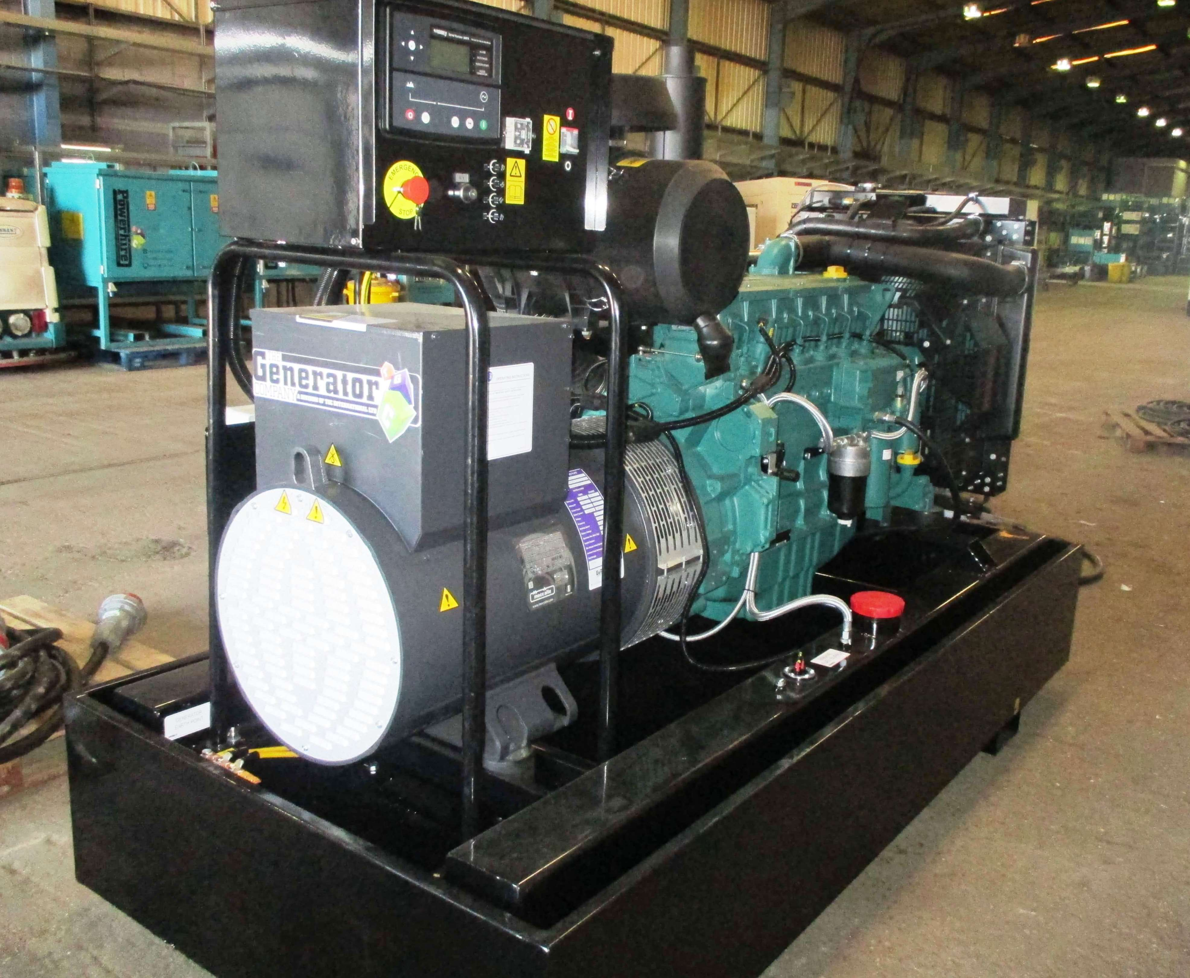 3MVA Back up Generator Power System for Worldwide Retailer The