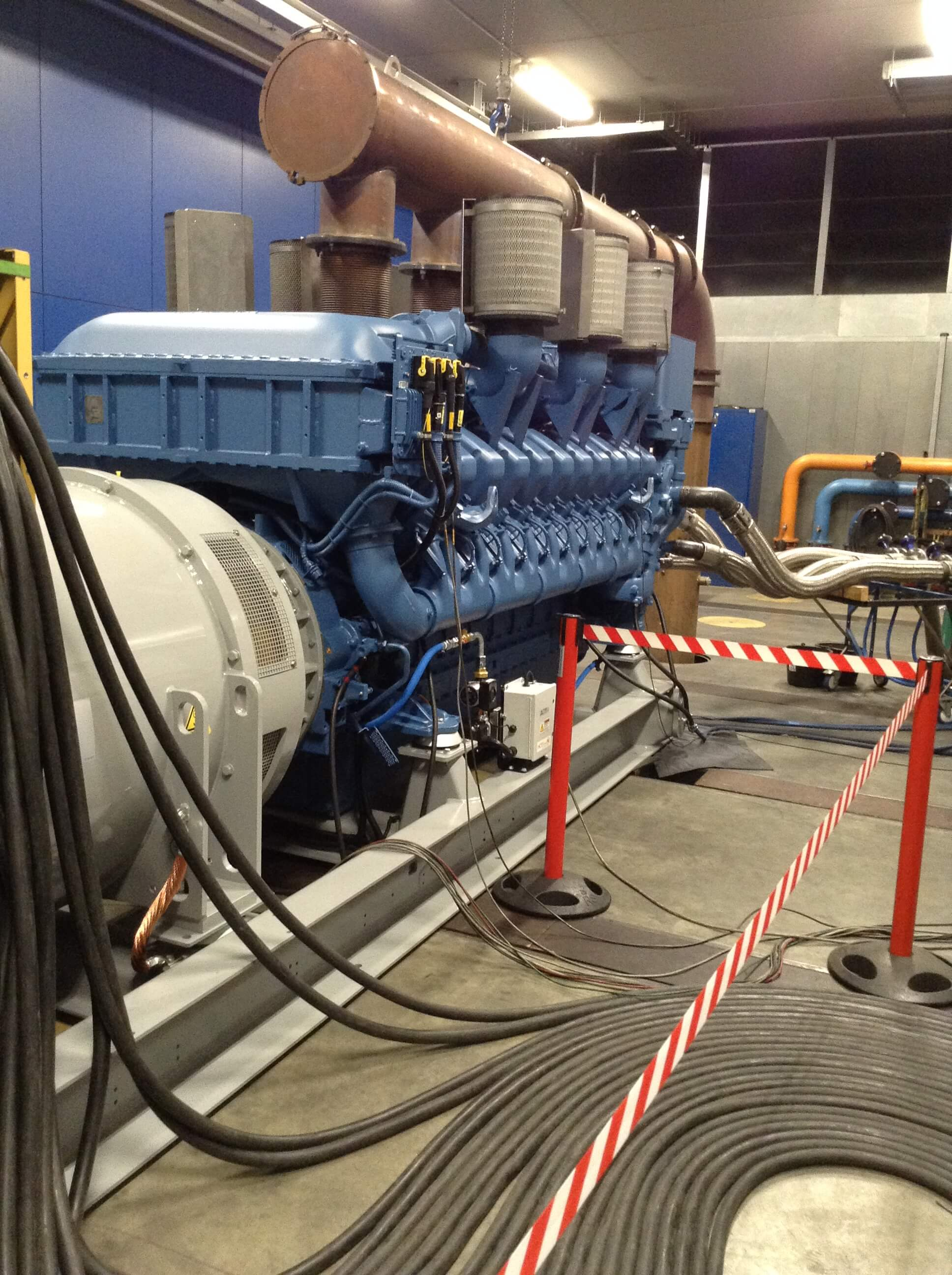 back-up generator power system