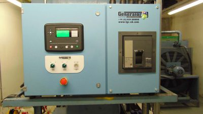 Replacement of existing generator control panel for Multinational Entertainment Company